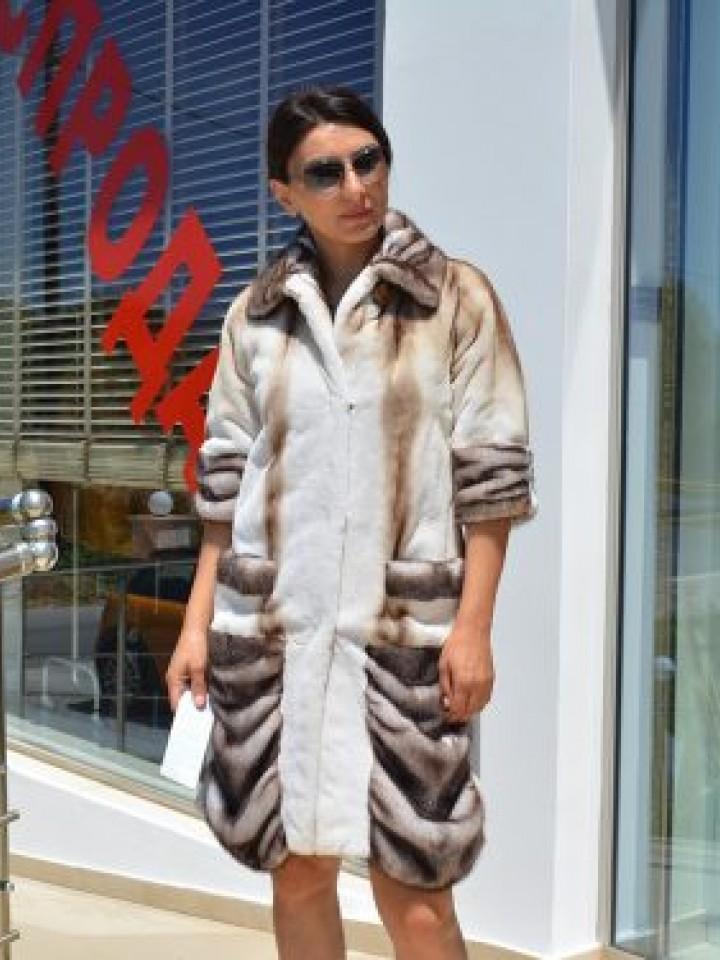 Mink fur coat N2 (MF03) by charm.gr